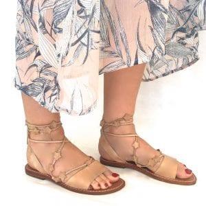"""Sandale """"stars"""""""